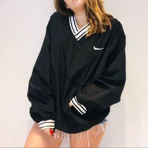 Nike oversized varsity windbreaker pullover